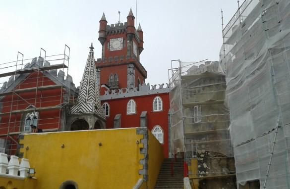 Recuperação e conservação Palácio da Pena